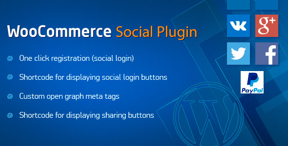 Social Plugin for WooCommerce